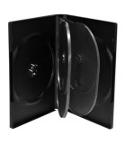 DVD Case for 6 discs, 22 mm, black