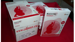 MAESTRO® standard+ , A4, 80 g, kancelársky a kopírovací papier, cena je za 5 balení 1 kartón 2500 listov