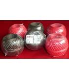 Špagát Juta PP, 12500 dtex, 100g, priemer 2,3 mm, dĺžka 80 m, zaťaženie 36 kg