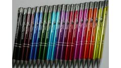 Atraktívne reklamné perá MIX rôzne farby, PROMO cena  - 50 %