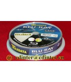 Traxdata BD-R 25 GB White Printable Blu - Ray Disc Cake 10, PROMO