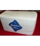 Obrúsky - servitky  balenie 500 ks biele Gastro